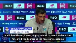 Porto coach Conceicao 'hungry' for restart of Portuguese league