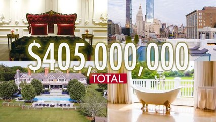 Inside $405M Worth of The Craziest Luxury Spaces On The Market