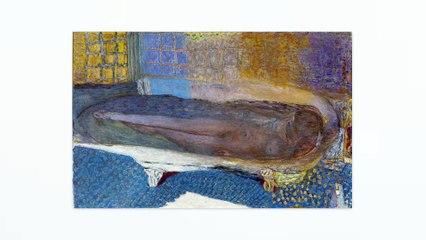 """CONTEMPLER : Méditation guidée à partir de l'œuvre """"Nu dans le bain"""" (1936) de Pierre Bonnard"""