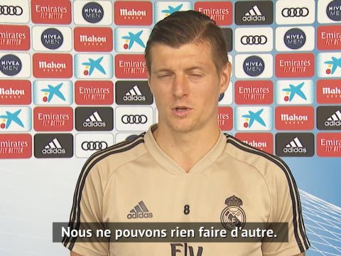 "Real Madrid - Kroos : ""L'équipe qui s'adaptera le mieux à la situation gagnera"""