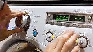 Jouer la musique de Harry Potter avec un lave-linge