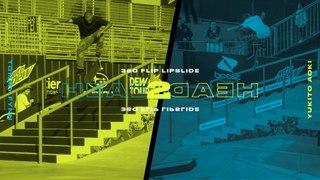 Head 2 Head: Tommy Fynn vs. Yukito Aoki, 360 Flip Lipslide