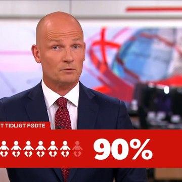 COVID-19; Færre ekstremt tidligt fødte | Nyhederne | TV2 Danmark