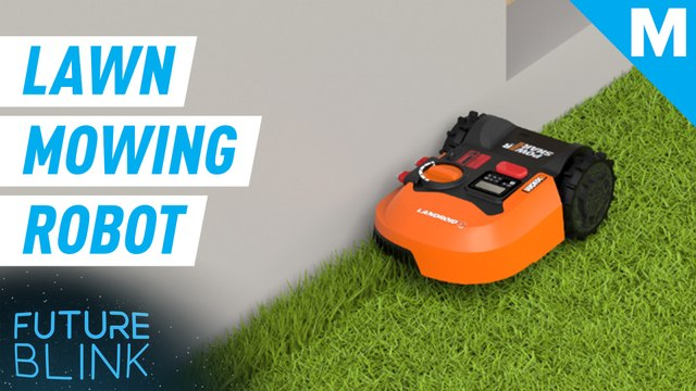 This robotic mower cuts your grass for you — Future Blink
