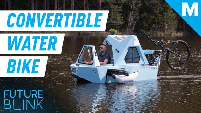 This electric camper works on land and sea — Future Blink