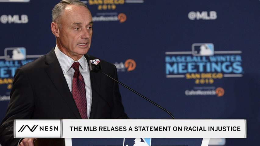 The MLB Has Released a Statement on Racial Injustice