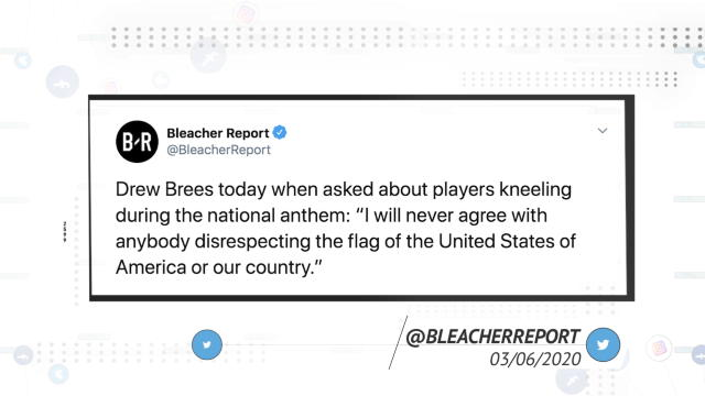 Socialeyesed - New Orleans Saints players rebuke Drew Brees' comments on George Floyd protests