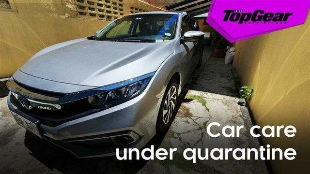 Car care under quarantine