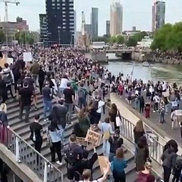 Son dakika... Irkçı saldırıya öfke Avrupa'ya yayıldı