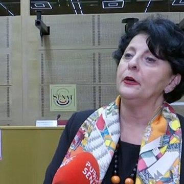 """Lubrizol: Christine Bonfanti-Dossat (LR): """"« Les moyens (d'alerte) employés à l'heure de l'incendie étaient complètement archaïques et inefficaces"""""""