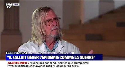 """Didier Raoult à une journaliste """"Taisez vous !"""""""