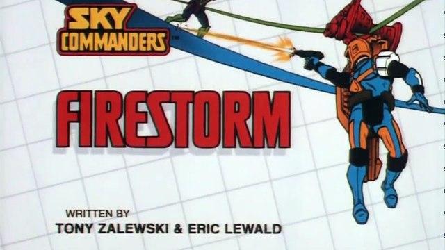 Sky Commanders S01E12 Firestorm