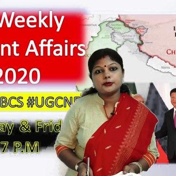 Bi-Weekly Series Current Affairs Series 2020