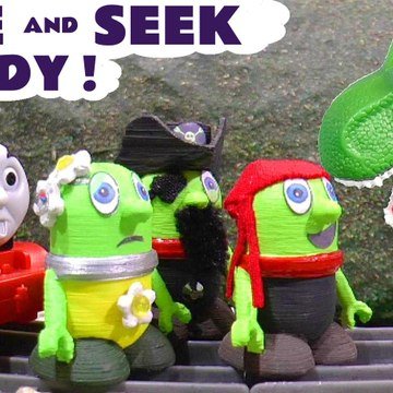 Hide and Seek Candy with the Funny Funlings and Thomas and Friends with Dinosaurs for Kids and pirates in this Family friendly Full Episode English Toy Story for kids from a Kid Friendly Family Channel