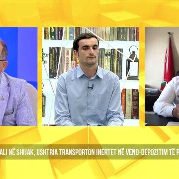 Sazan Guri: Reagon ashpër ndaj ndotjes së hapësirës nga inertet - Shqipëria Live, 4 Qershor 2020
