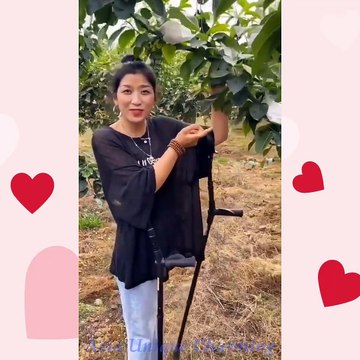 Asia Amputee in Everyday Life: Peach Garden