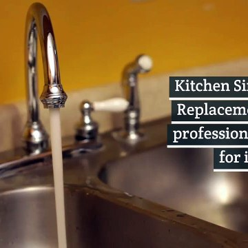 Kitchen Sink Faucet Replacement