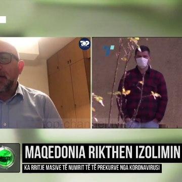 Maqedonia rikthen izolimin/ Ka rritje masive të numrit të të prekurve nga koronavirusi