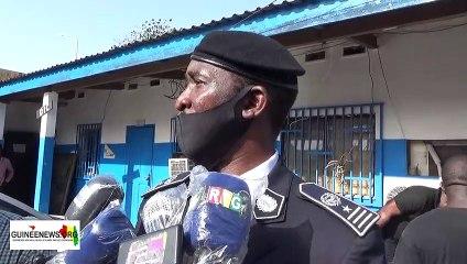 Arrestation des ''bandits'' : le Directeur de la DPJ  Aboubacar Fabou Camara explique