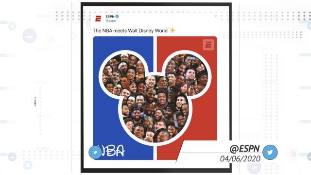 Socialeyesed – NBA stars react to news of league's resumption