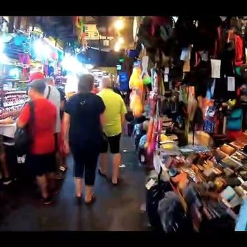4K Patpong night market, Bangkok, Thailand  2020