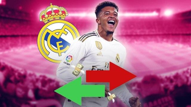 Le Real Madrid veut piquer Jadon Sancho à Manchester United !   Oh My Goal