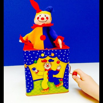 Pop Up Surprise Jack In The Box-
