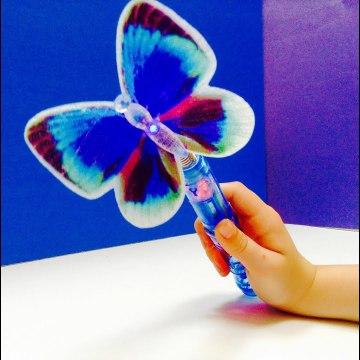 Butterfly Magic Glow Wand-