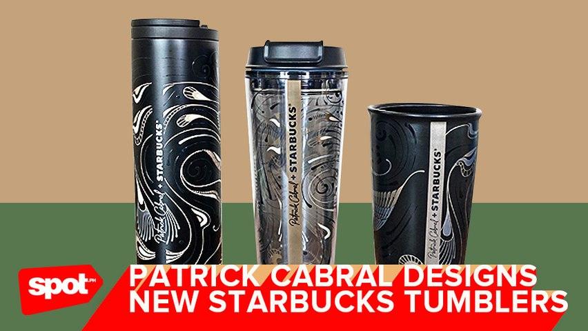 Patrick Cabral Designs New Starbucks Tumblers