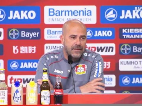 """Leverkusen - Bosz : """"Très agréable de regarder jouer le Bayern"""""""