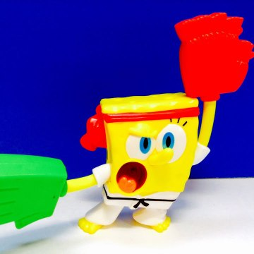 SpongeBob SquarePants Kung Fu McDonalds Happy Meal Toy