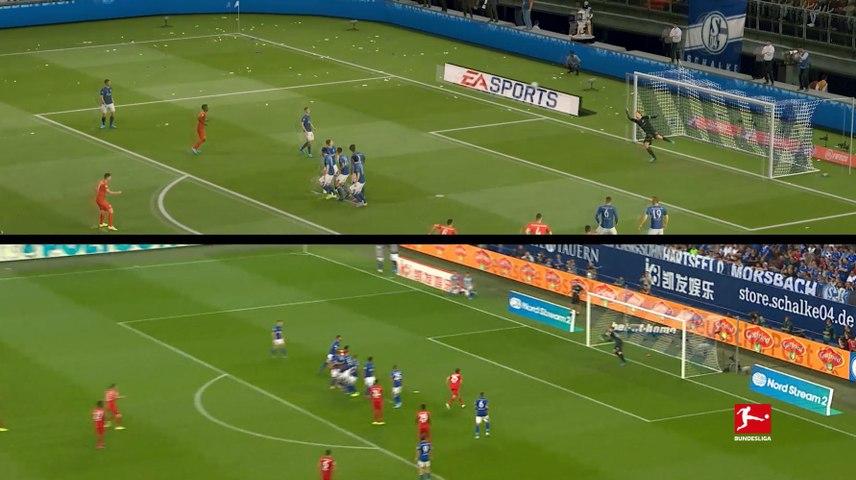 Recreated Goals | Robert Lewandowski vs. FC Schalke 04