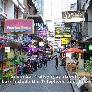 Bangkok nightwalk - Lumphini to Patpong