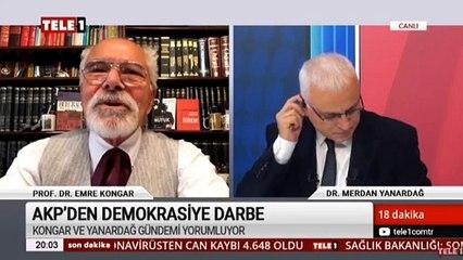 Prof. Dr. Emre Kongar: FETÖ'nün yöntemlerini kullanmakla kalmıyorlar yaptıklarını sürdürüyorlar!