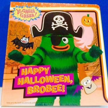 Yo GABBA Gabba Happy Halloween Brobee Read-A-Long Book