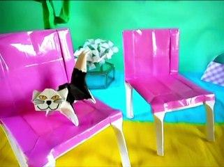 Origami Chair - Make a paper chair