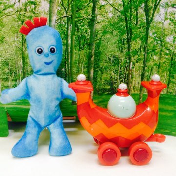 Iggle Piggle In The Night Garden and the Ninky Nonk