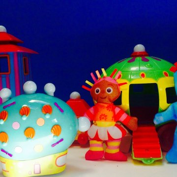 In The Night Garden Iggle Piggle, Upsy Daisy and the Pinky Ponk