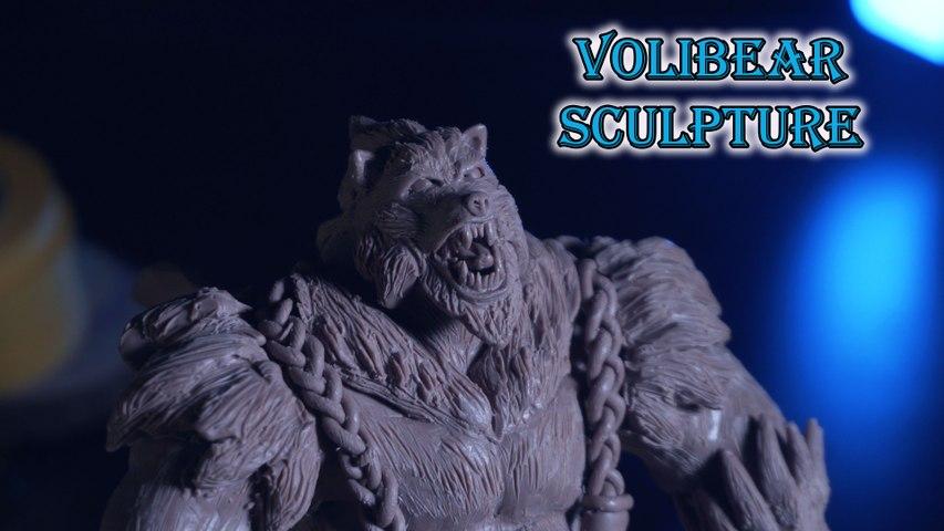 Sculpting Volibear Rework (The Relentless Storm) - League Of Legends DIY