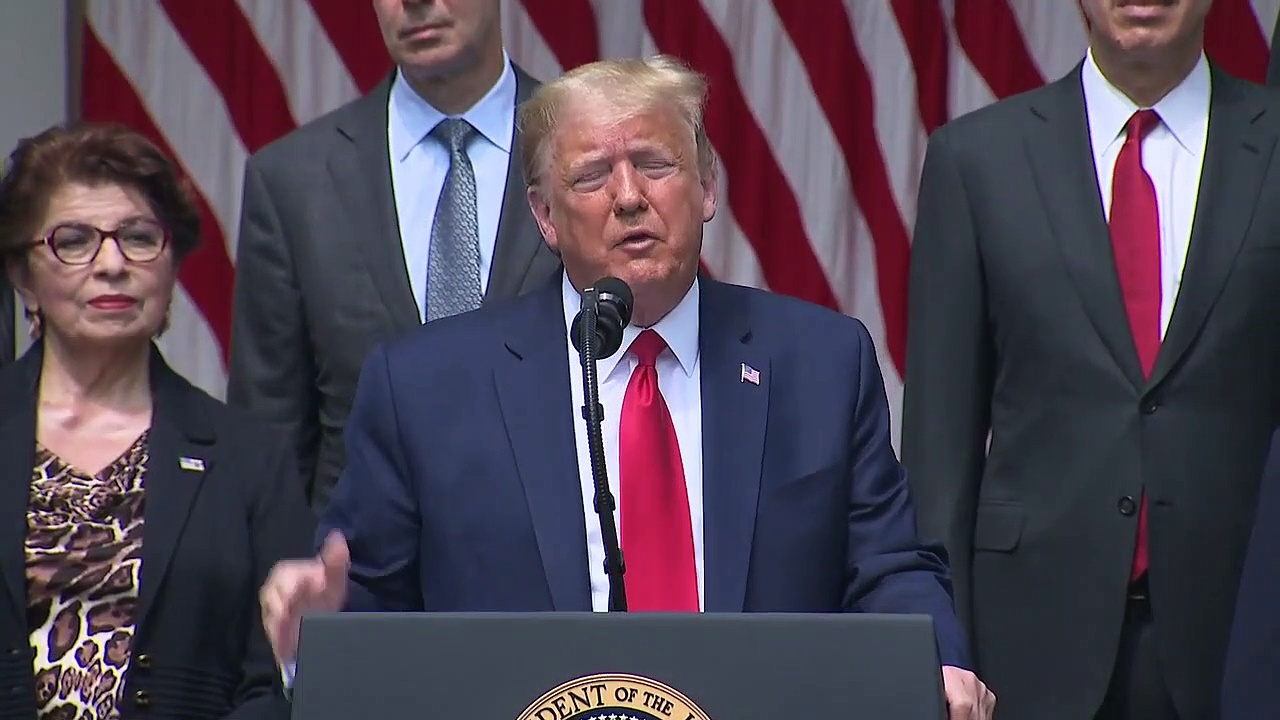President Trump holds news conference