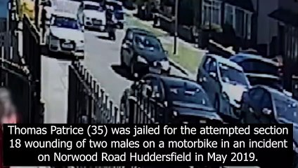 Halifax man jailed for ramming youths off motorcycle In Huddersfield