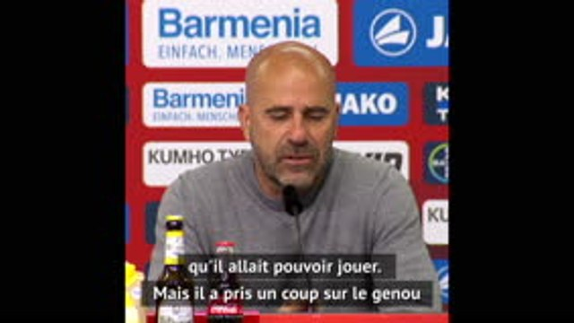 30e j. - Bosz revient sur l'absence de la star Kai Havertz