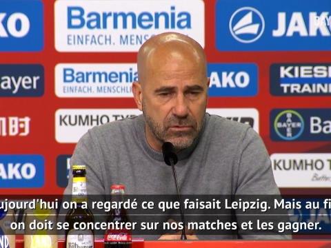"""30e j. - Bosz : """"Toujours à la lutte pour la Ligue des champions"""""""
