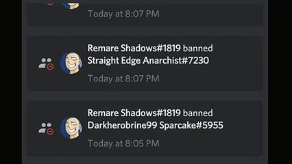 Remare Shadows - The Kittybelle's Discord Groups Admin Abuser![Exposing him!]