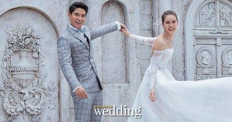 เบื้องหลังการถ่ายแฟชั่นชุดแต่งงาน เจนี่ & มิกกี้ นิตยสารแพรว wedding