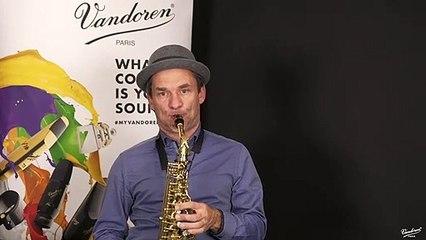 Michael Cheret nous parle du bec Vandoren A35 de la série V5 Jazz