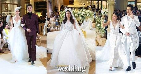 แฟชั่นโชว์ชุดแต่งงาน In a Relationship with Praew Wedding - นิตยสารแพรวเวดดิ้ง