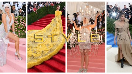 Iconic met gala fashion from the last 20 years