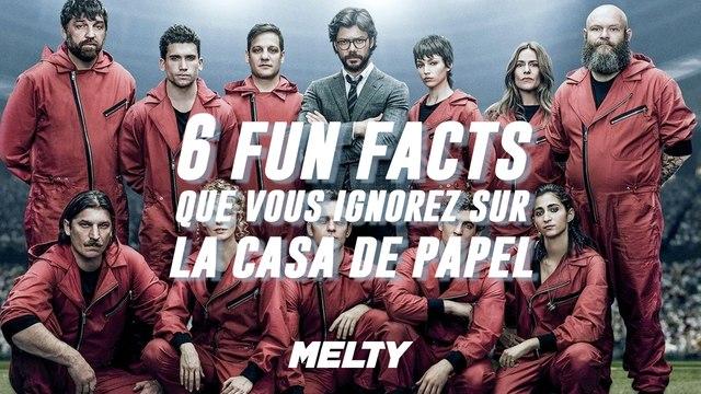 6 fun facts sur La Casa de Papel