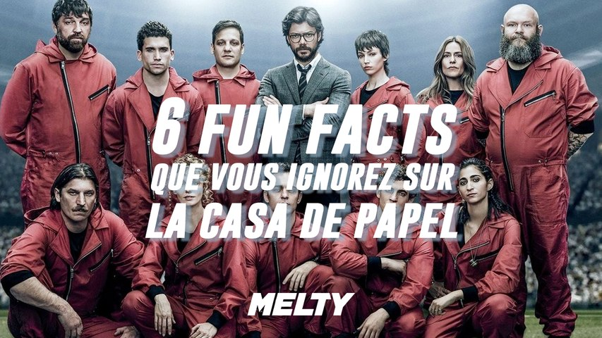 6 fun facts sur La Casa de Papel